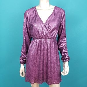 OUTRAGEOUS FORTUNE 1990's Sequin Mini Dress // NWT